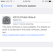 Apple seeded iOS 9.4 beta 4 to developers and public beta testers!