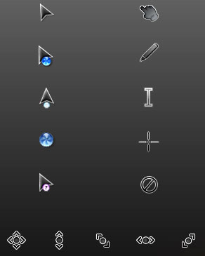 Eclair cursor scheme