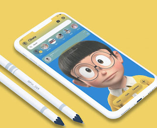 Nobita Theme For RC YOWhatsApp Glax By Iwang