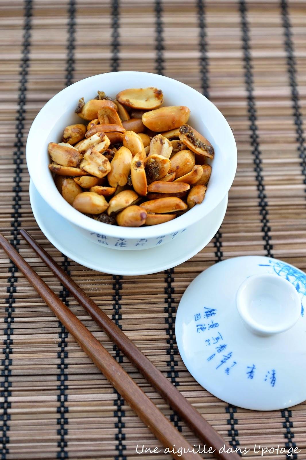cacahuètes épicées