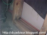 Paintable silicone was used to seal all wood joins and near the wall