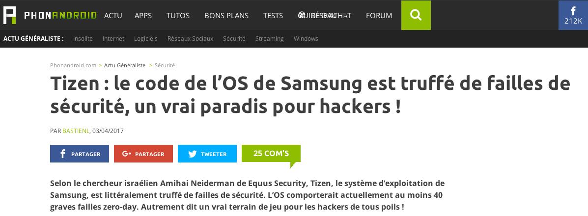 Новая атака на Samsung: теперь
