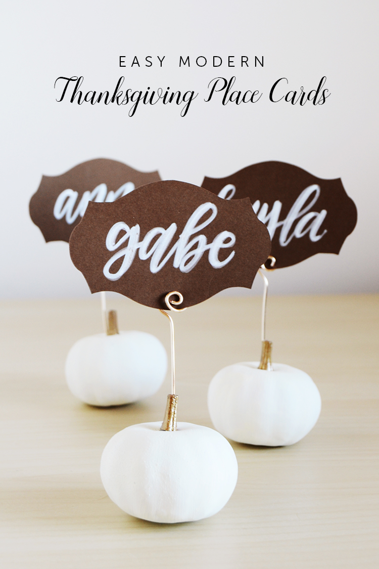 modern thanksgiving place cards at crafts unleashed