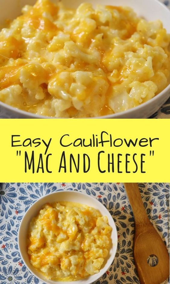 Cauliflower {Mac And Cheese}