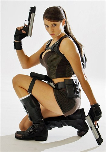 Lara Croft Real