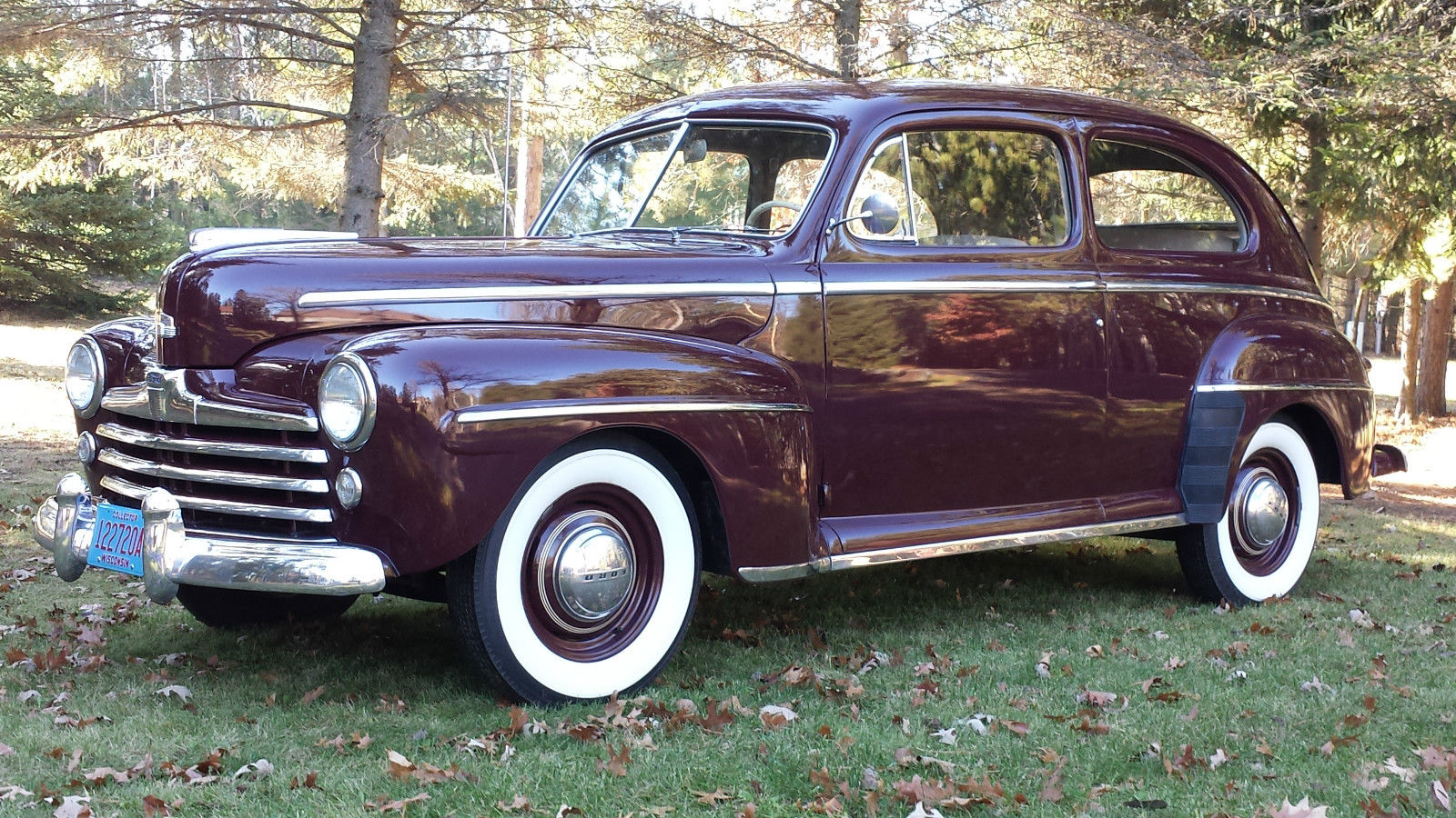 all american classic cars 1948 ford deluxe tudor 2 door sedan