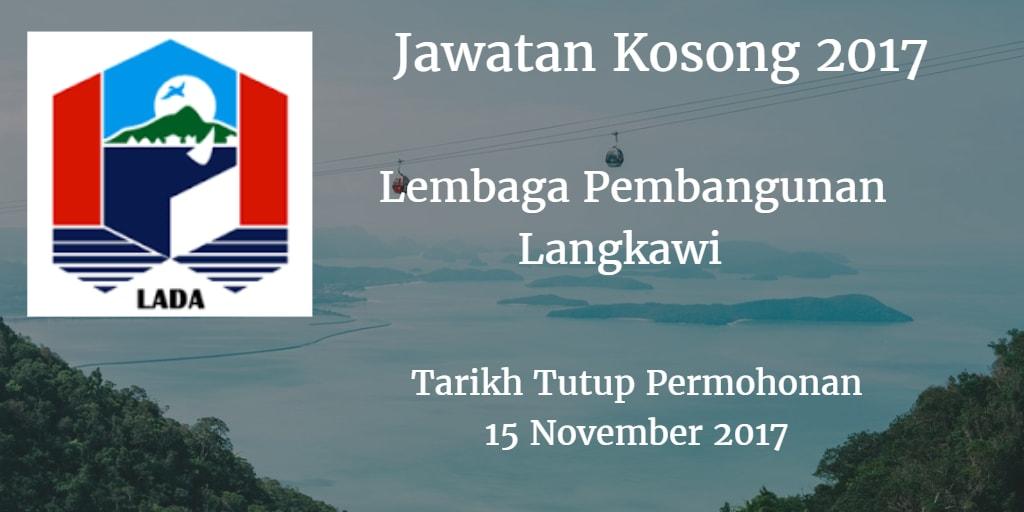 Jawatan Kosong LADA 15 November 2017