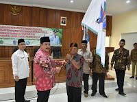 Bupati Pangandaran Lepas Peserta Kafilah STQH dan Kontingen Pentas PAI