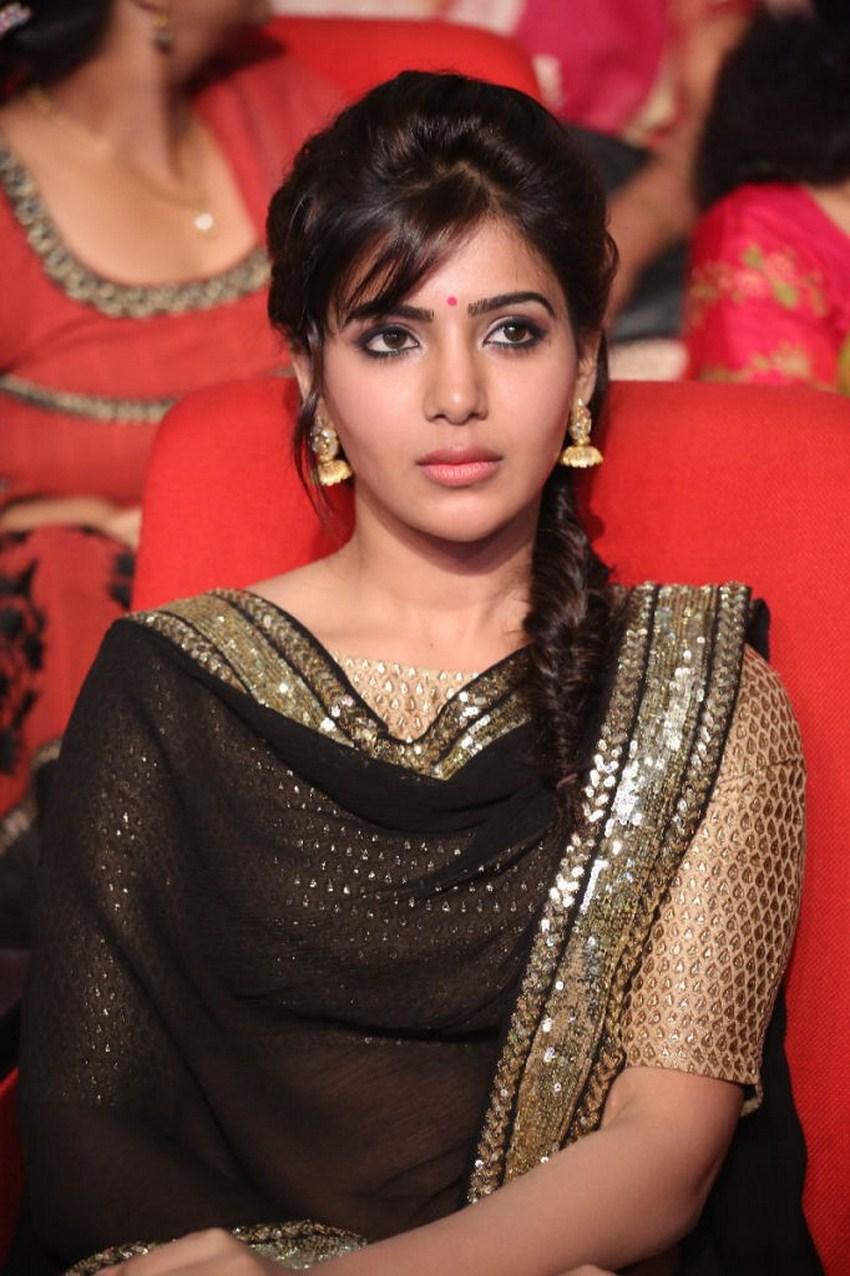 Samantha In Saree: Entertainment Site: Samantha Ruth Prabhu