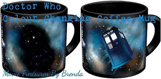 Doctor Who Disappearing Tardis Coffee Mug