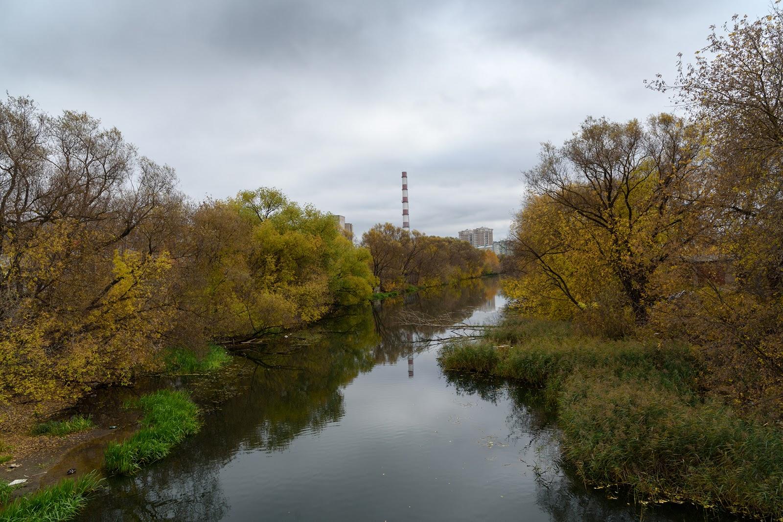 Осенние фотографии города Иваново. Уводь
