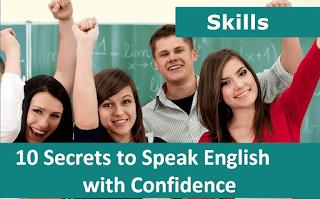 10 Secrets to Speak English with Confidence