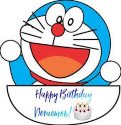 Gambar Lucu Kartu Ulang Tahun Doraemon Ucapan Happy Birthday