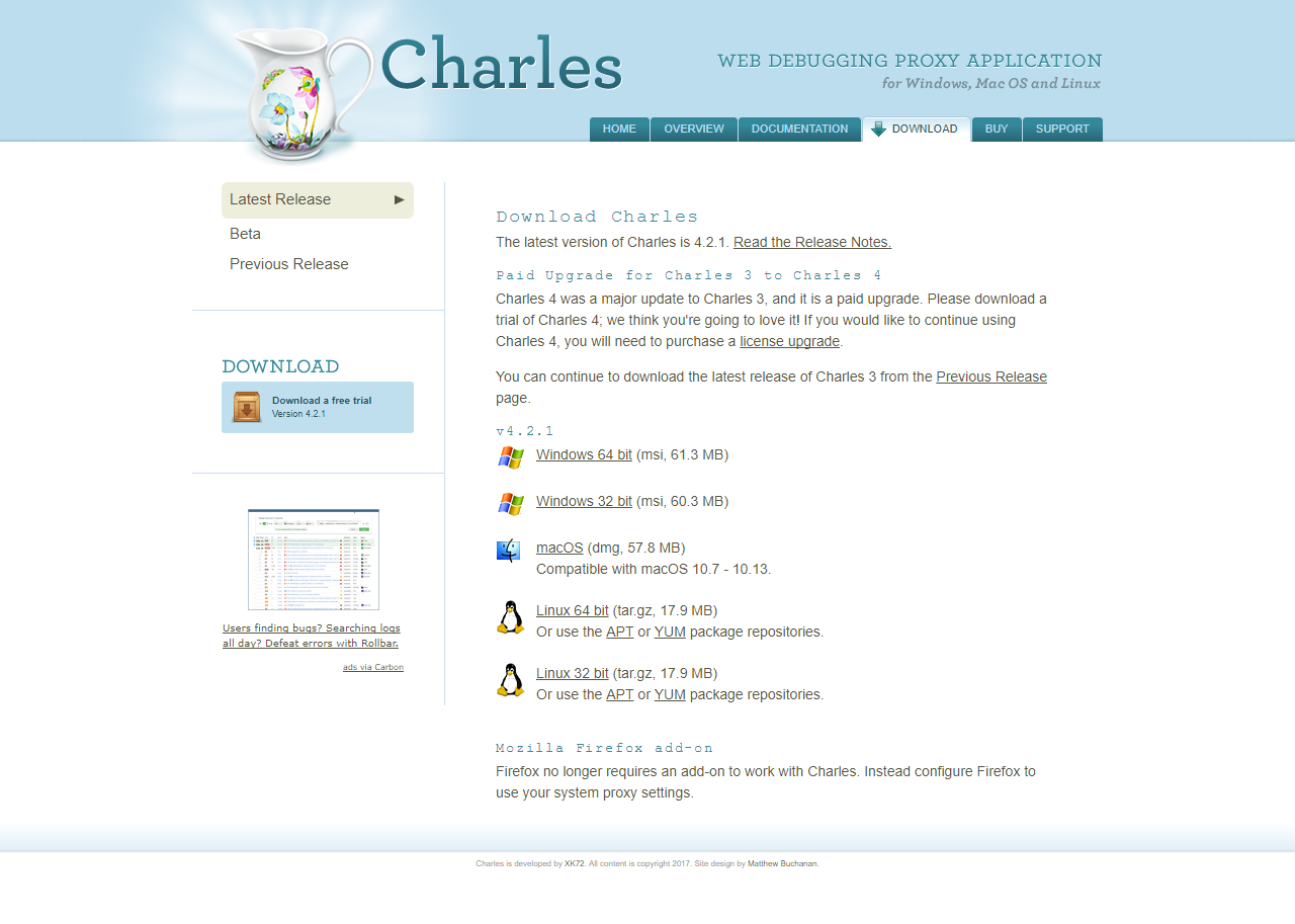 ♥RARES♥: THIS BLOG CONTACTS CHARLES PROXY