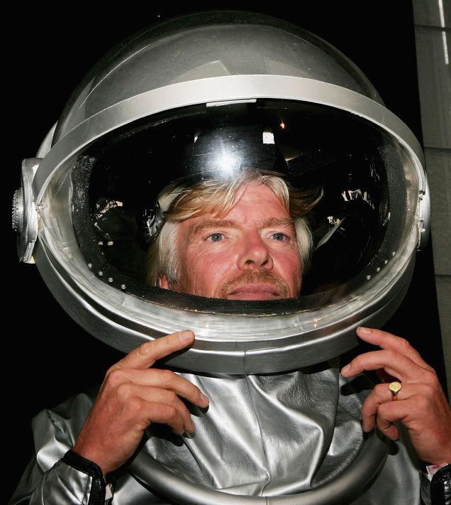 richard branson space shuttle port - photo #25