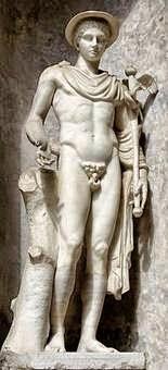 El dios del Olimpo Hermes