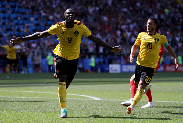 Belgium 5-2 Tunisia: Lukaku and Hazard scores two goals each