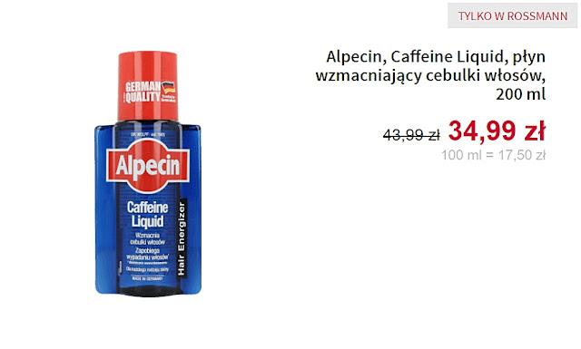 Alpecin - płyn wzmacniający cebulki włosów