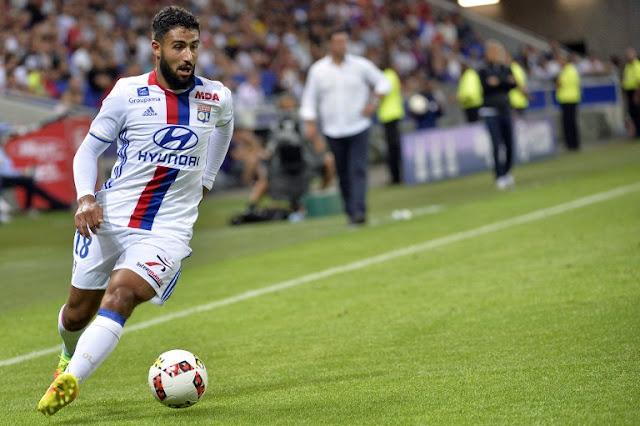 Nabil Fékir sous le maillot de Lyon