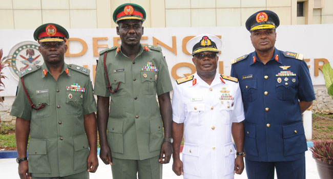 Image result for Nigerian security chiefs