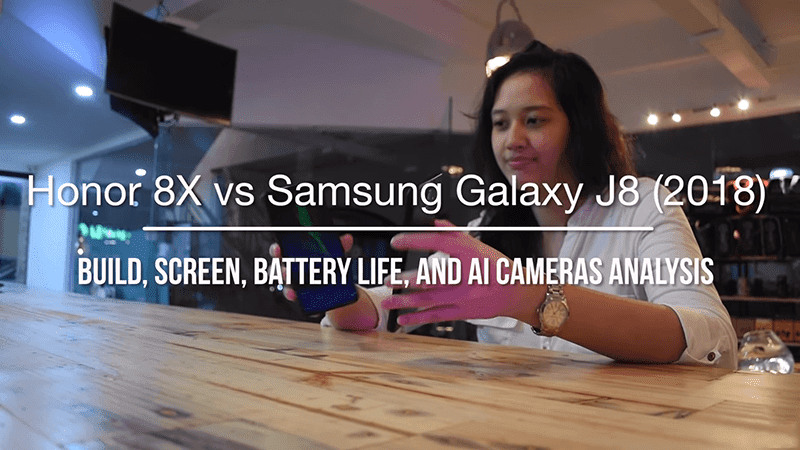 Watch: Honor 8X vs Samsung Galaxy J8 (2018) - Which has better build, screen, battery life, and AI camera?