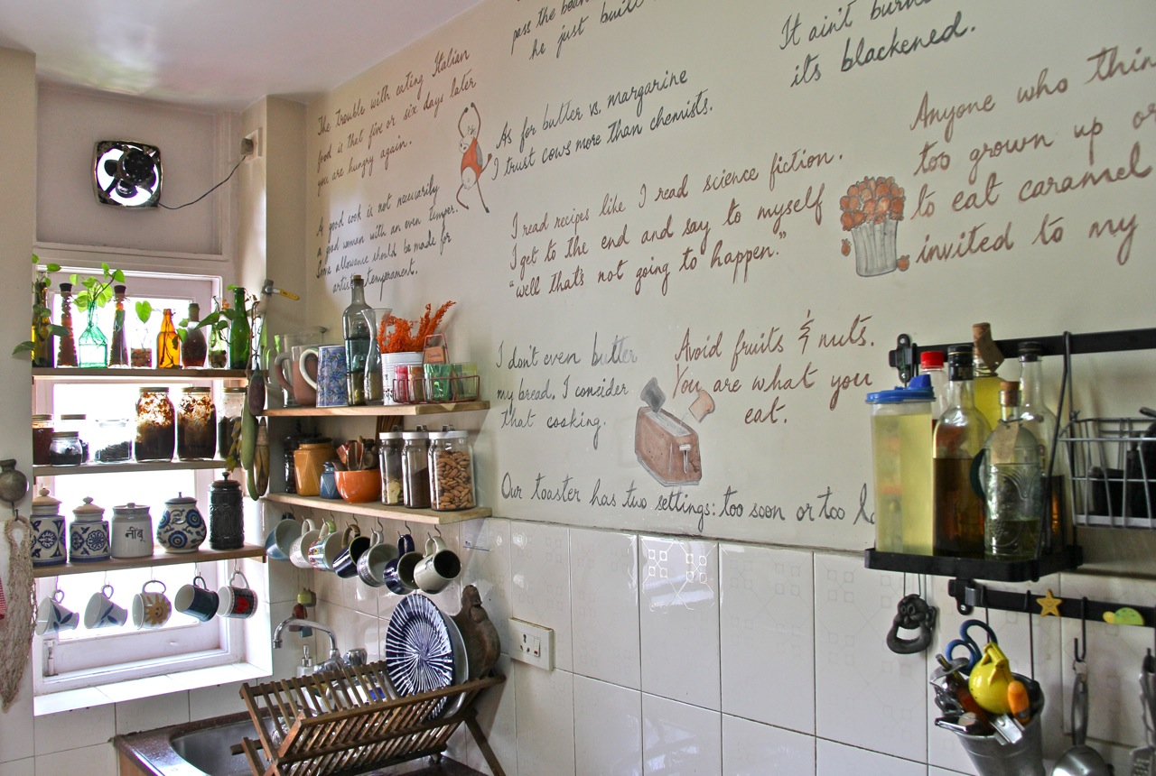 Home is where the art is: Writing on Walls