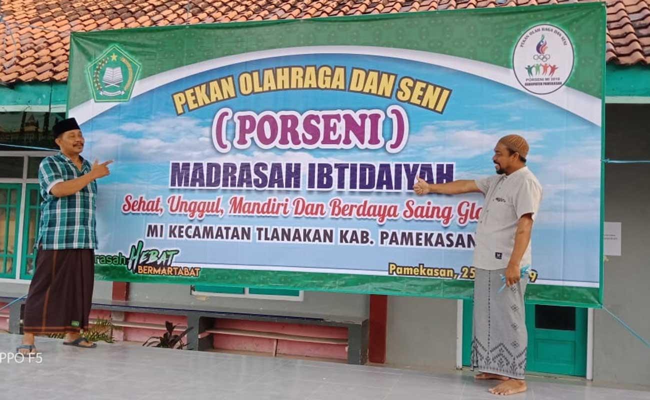 Pengembangan Prestasi Siswa Melalui PORSENI Oleh KKM Tlanakan