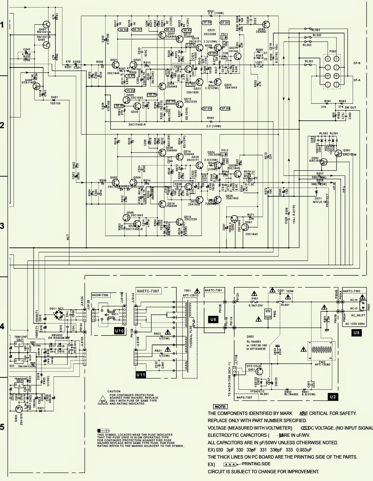 hight resolution of integra dtm5 3 schematic circuit diagram 2sc5200 npn 2sa1943 pnp outout transistors electro help