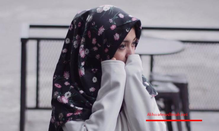 Muslimah sedih dan galau