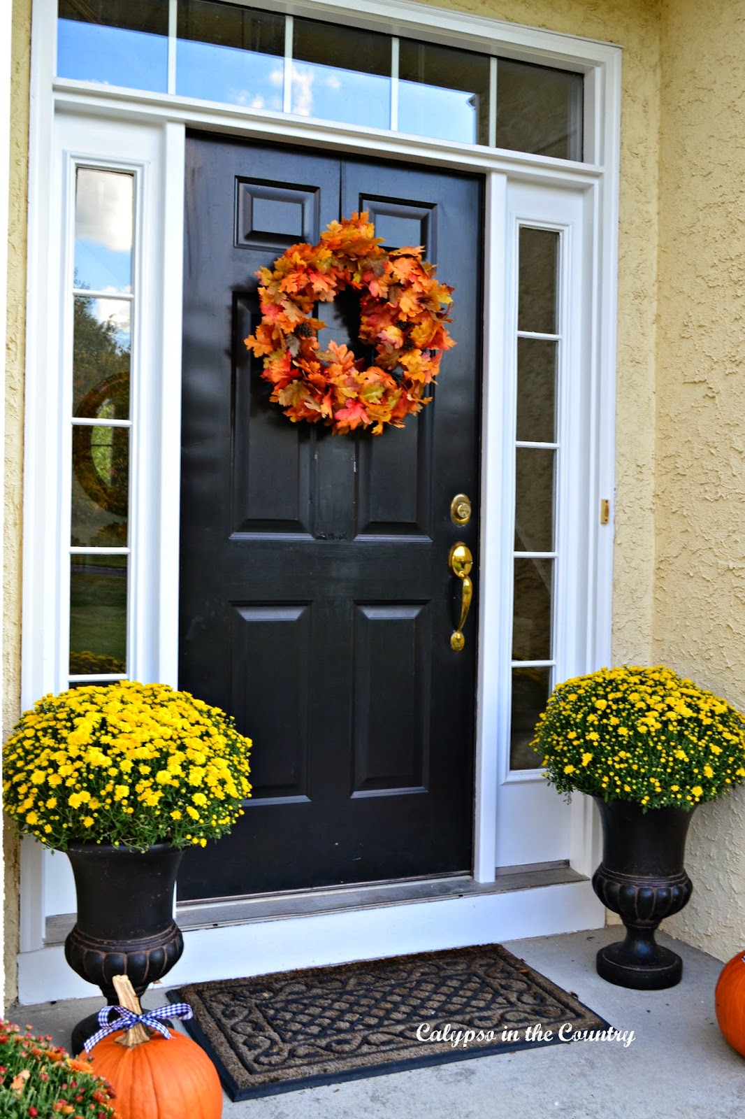 Fall Decorating Ideas for Front Porch
