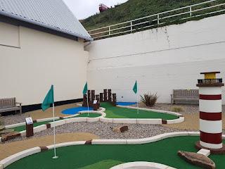 Saltburn Minigolf course