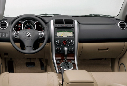 2017 Suzuki Grand Vitara Interior