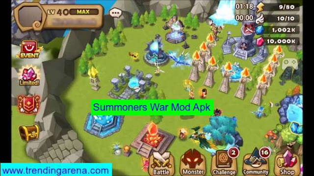 Summoners War Mod Pro Crack Hack Apk