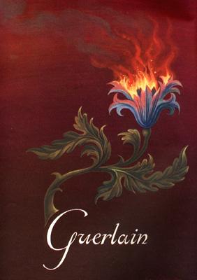 Guerlain Perfumes Fleur De Feu C1948