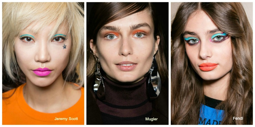 Fall '16 Makeup Trends Colorful eyes