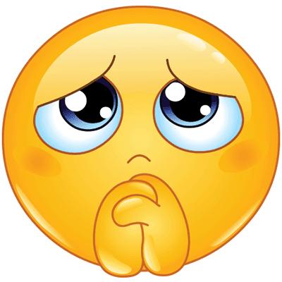 Praying emoji