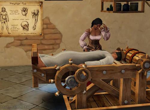 The Sims Medieval - в средневековье были успешно искоренены болезни