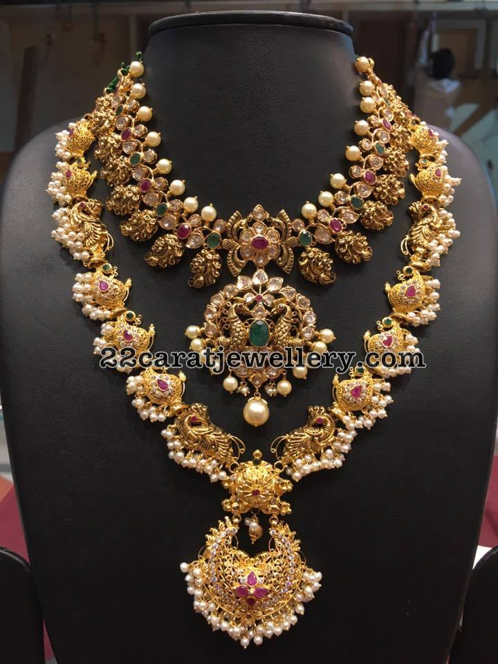 Peacock Long Chain By Bhavani Jewellers Jewellery Designs