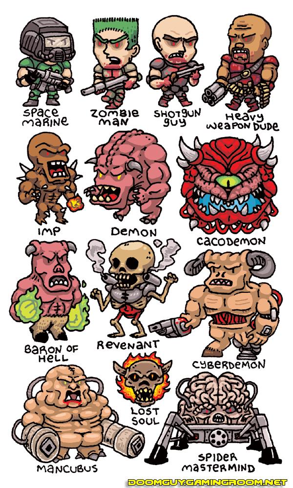 Doom versão Chibi