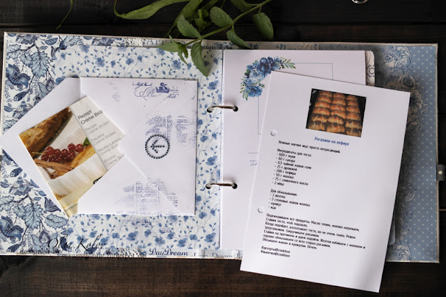 @olgakolov @scrapberrys #rhapsodyinblue #cookbook #kochbuch #cooking #handmade