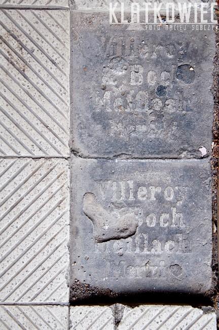 Gorzów Wielkopolski. Posadzka. Villeroy & Boch Mefflach Merzig.