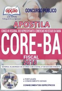 apostila Fiscal concurso CORE-BA