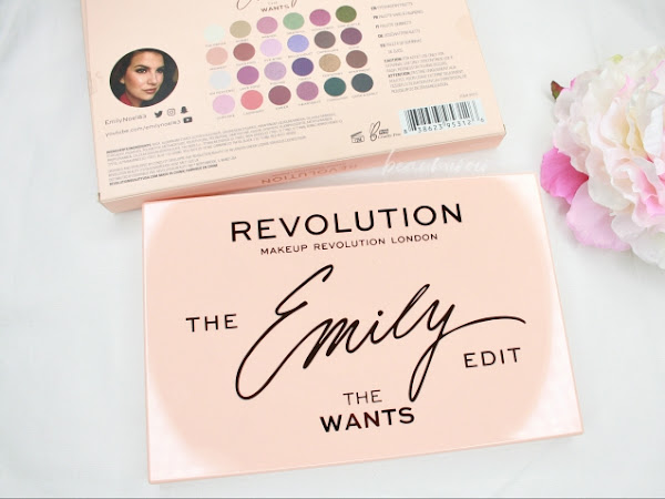 Makeup Revolution The Emily Edit: The Wants Eyeshadow Palette Review