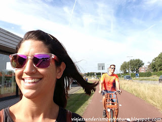 En bicicleta hacia Zaanse Schans