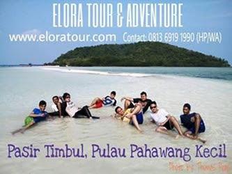 Paket Tour ke Pahawang Kecil elora tour & adventure