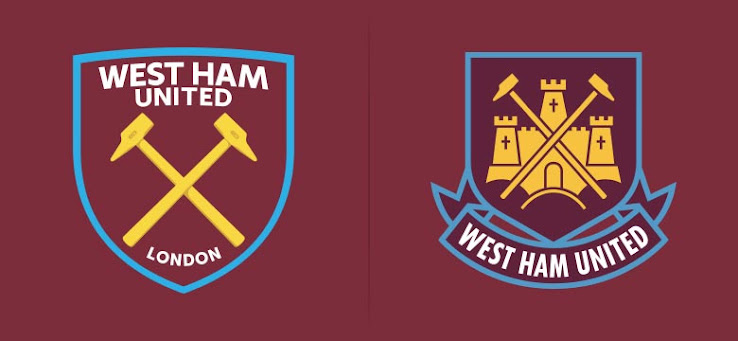 West Ham's new club crest for 2016-17