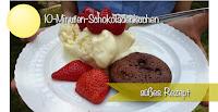leckere Schokoladenküchlein, 10 Minuten rühren, 10 Minuten backen