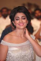 Shriya Saran in Stunning White Off Shoulder Gown at Nakshatram music launch ~  Exclusive (115).JPG