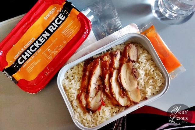 Uncle Chin's Chicken Rice AirAsia Santan New In-flight Menu, AirAsia Santan Menu Launch at Amorita Resort Panglao Bohol, Airsia Airline Meal Food Blog Review,  Philippines Airline Meal Review, Amorita Resort Panglao Bohol, YedyLicious Manila Food Blog,