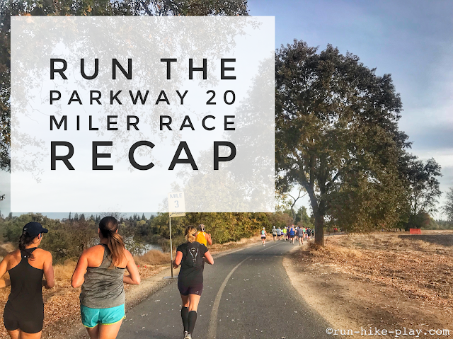 Run The Parkway 20 Miler Race Recap 11/4/18